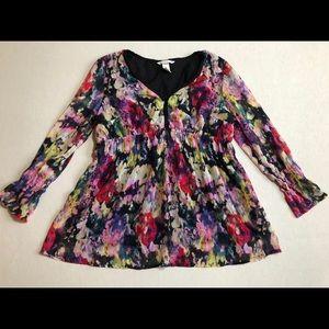 Maternity H&M floral blouse. Size M.